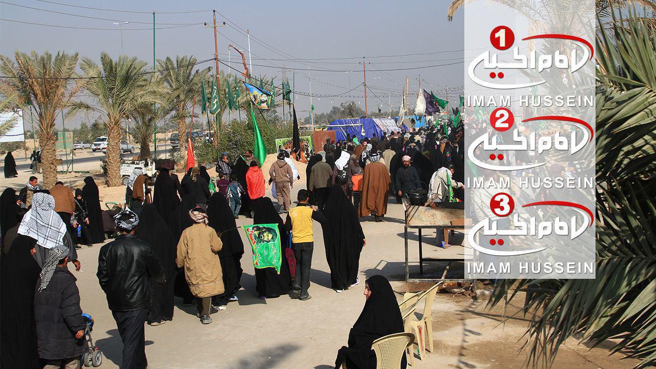 Photo of Arbaeen Center affiliated to IHTV Group kicks off on Najaf- Karbala road