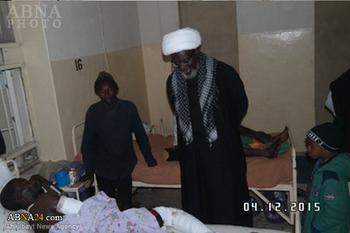 Photo of 43 victims of Arbaeen bomb blast in Nigeria still in hospital