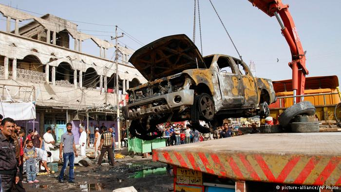 Photo of Bomb attacks leave eight people dead and dozens wounded in Shia cities across Baghdad