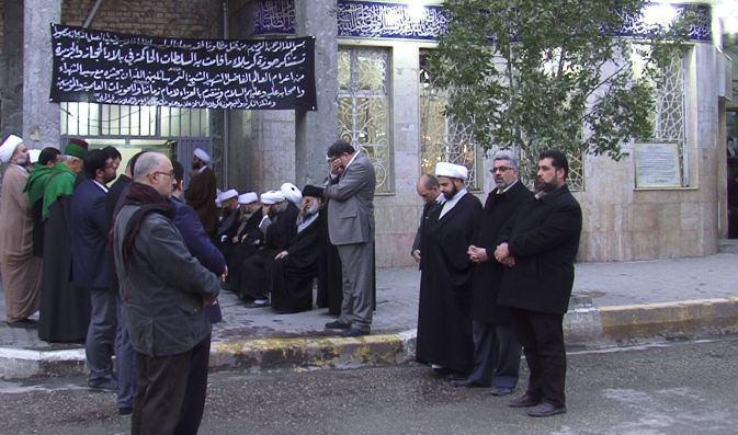 Photo of Karbala Seminary School holds mourning ceremony for Martyr Sheikh Nimr