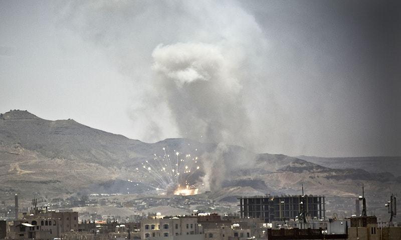 Photo of Saudi Arabia attacks Yemen's Sa'ada with cluster bombs, killing eight