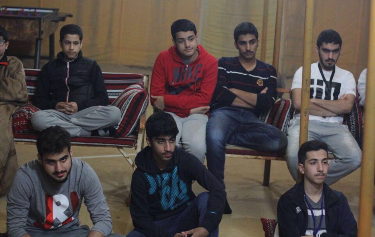 Photo of Shia youth in Kuwait set up al-Rasoul al-Adham Camp
