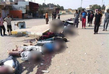 Photo of ISIS massacred 350 people in Syria's Deir Ezzor