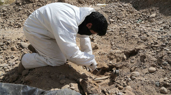 Photo of Three mass graves found in ISIS-held Syrian province
