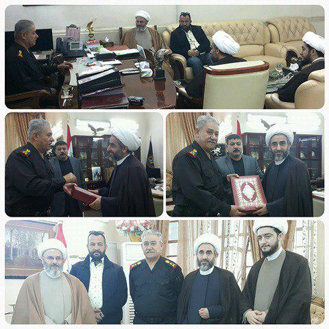 Photo of Shirazi delegation visits leader of counter-terrorism forces in Iraq