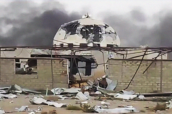 Photo of Saudi aggression destroys 136 mosques in Yemen's Sana'a