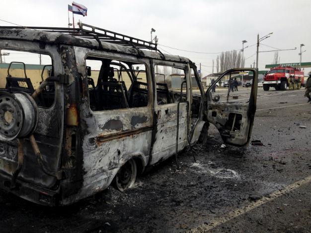 Photo of Car bomb blasts through Dagestan checkpoint