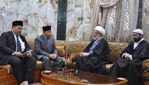 Photo of Indonesian ambassador to Iraq meets with Sheikh Abdul-Mehdi al-Kerbalaey