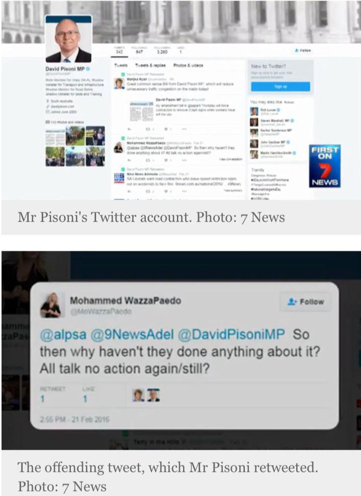 Photo of Australian MP posts an offensive tweet about Islam and Prophet Muhammad