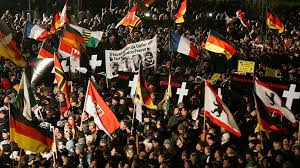 Photo of PEGIDA supporters hold anti-Islam rallies