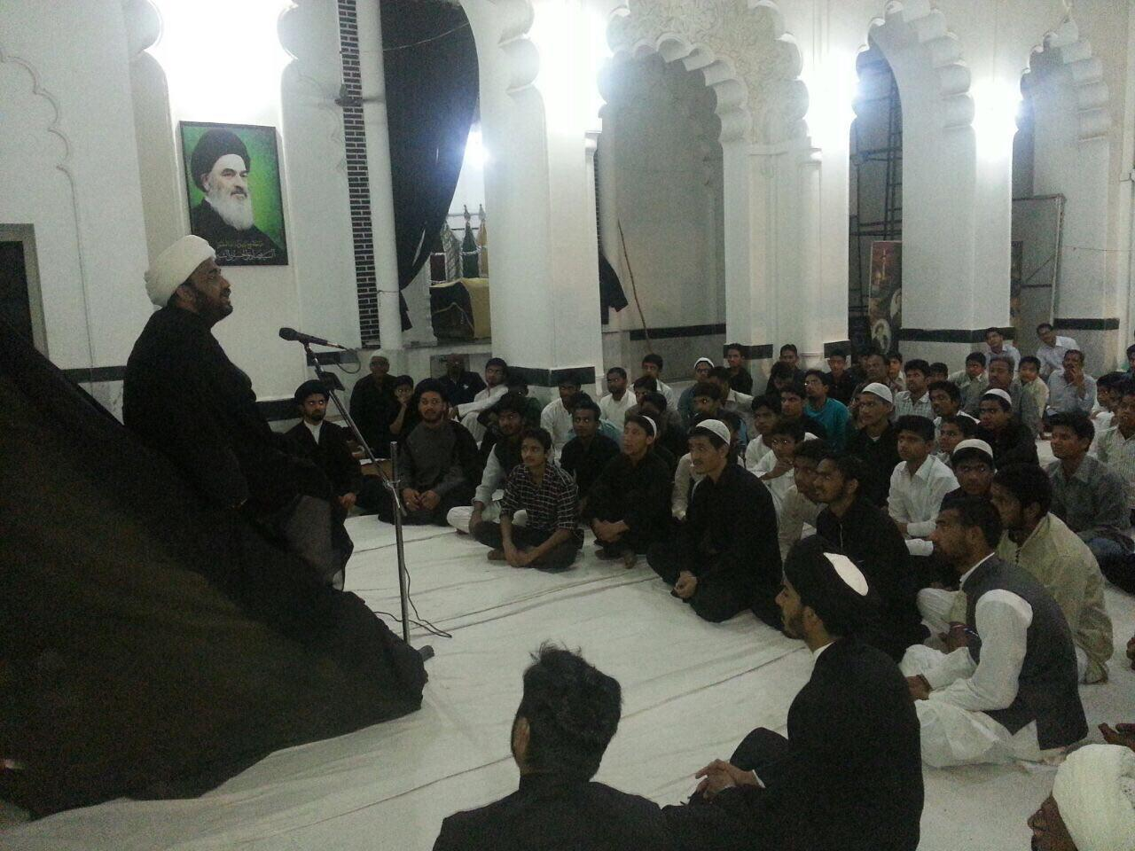 Photo of Photos: A commemorating ceremony held in Prominent cleric Ayatollah Shirazi's house in Leknow-India