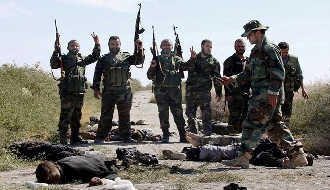 Photo of Syrian army troops foil terrorist assault in Hama Countryside