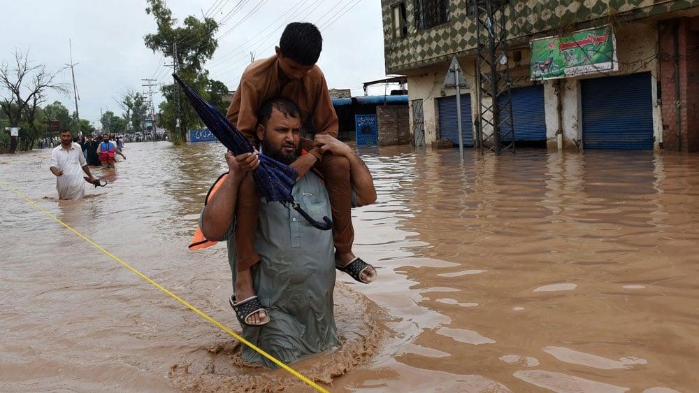 Photo of Dozens Killed Due To Torrential Rain in Pakistan