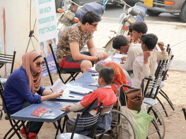 Photo of Bringing education to the streets of Karachi