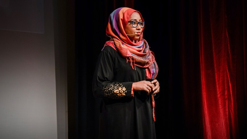 Photo of TEDx talk 'What Does Islam Mean to You?' to discuss perceptions of Islam