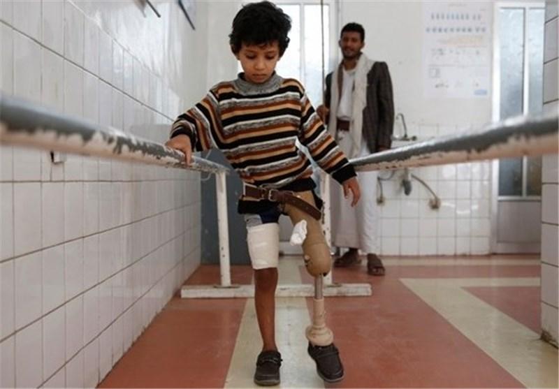 Photo of Six children killed, maimed daily in Yemen since Saudi air strikes began