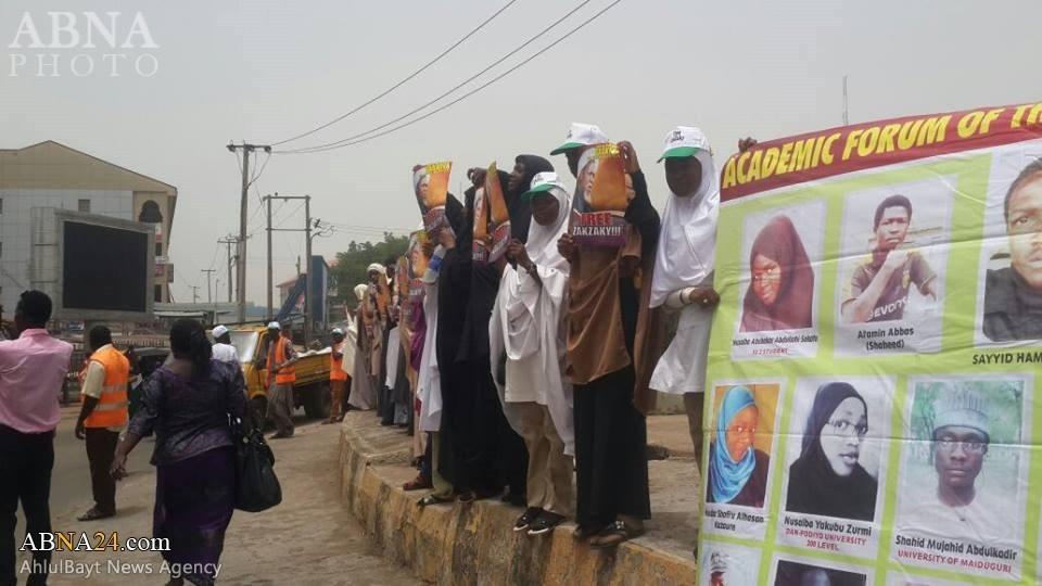 Photo of Academic Forum of Islamic Movement in Nigeria holds free Zakzaky protest in Kaduna