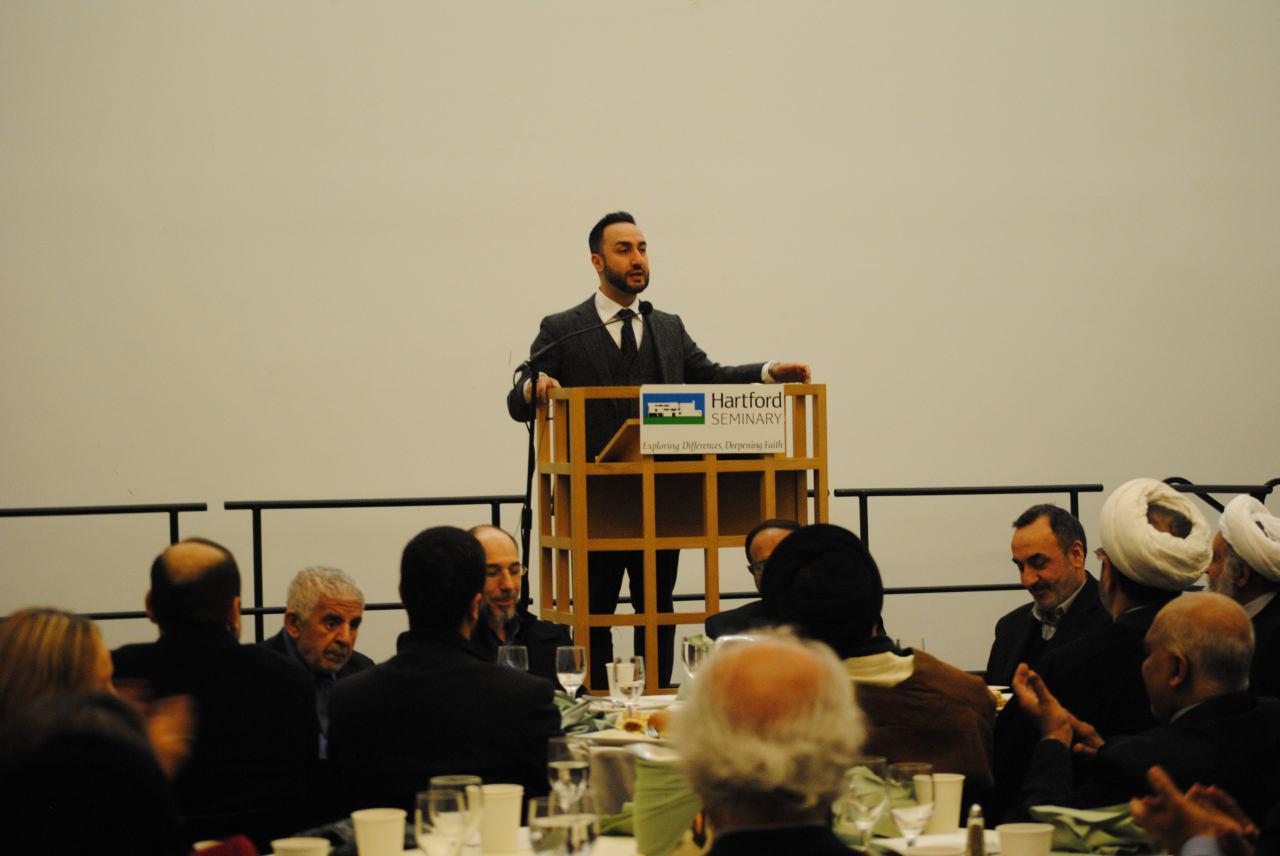 Photo of Historic Shia Chair Celebrated at Inauguration Banquet