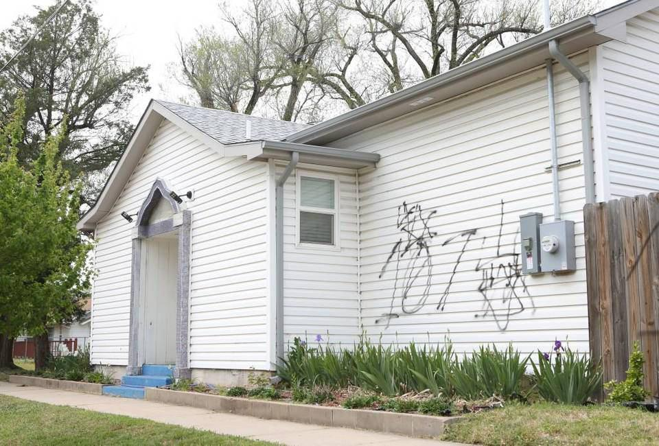 Photo of Mosque vandalized in Kansas, damages estimated at $500