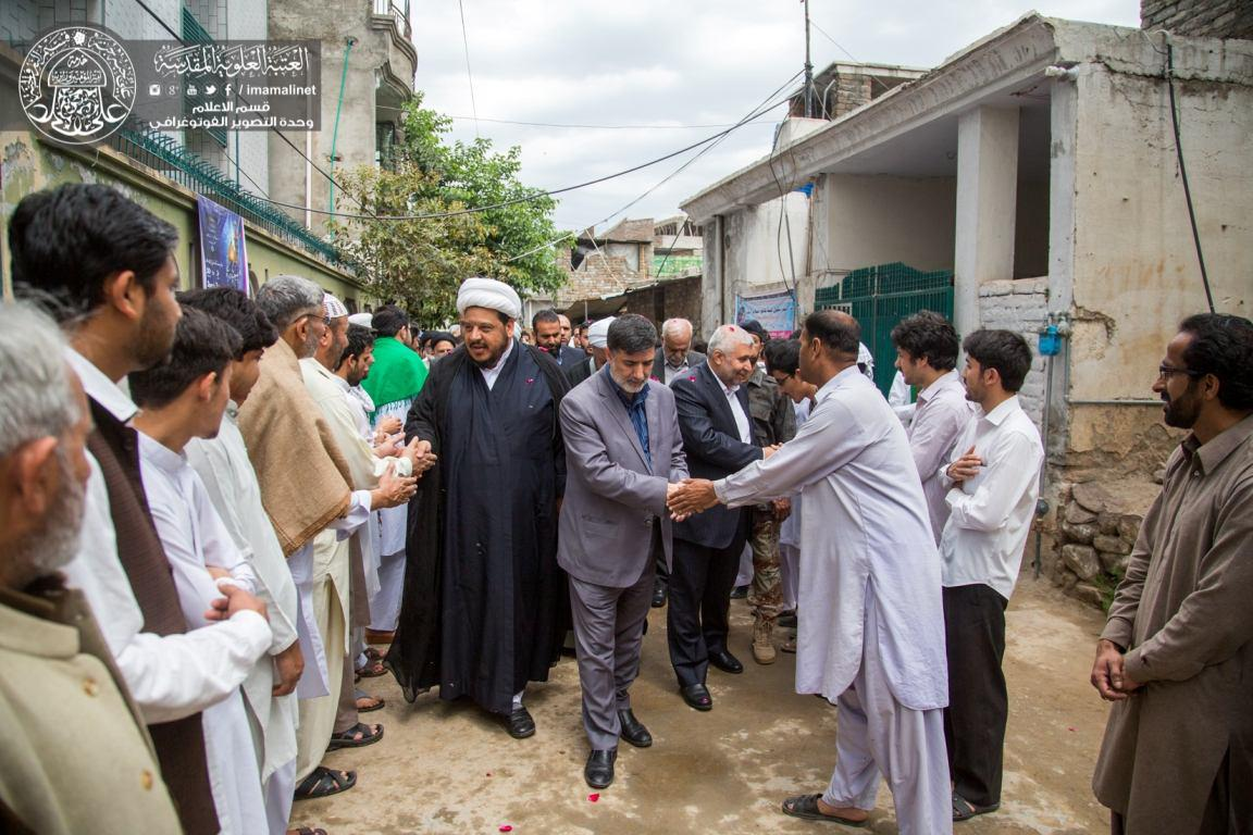 Photo of Imam Ali Holy Shrine Delegation visits Imam Redha University in Pakistan's Islamabad
