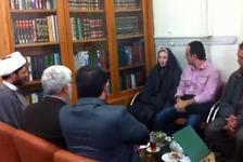 Photo of Brazilian lady reverts to Shia Islam at Imam Ridha holy shrine in holy Mashhad