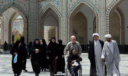 Photo of Five Swedish Citizens revert to Shia Islam at Imam Redha Holy Shrine