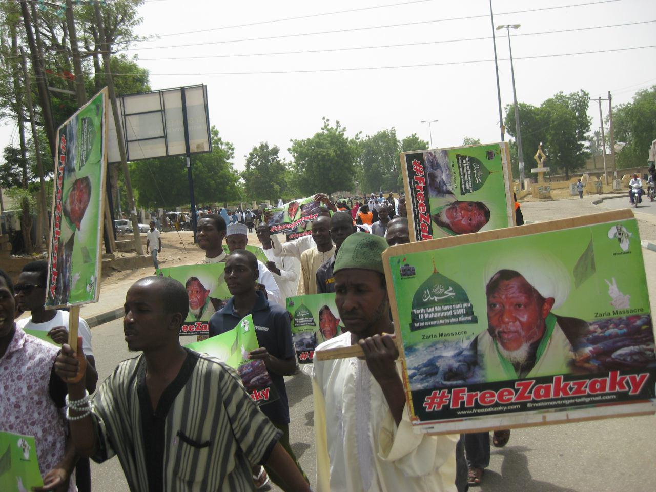 Photo of Thousands participate at 'Free Zakzaky' Peaceful Protest in Bauchi, Nigeria