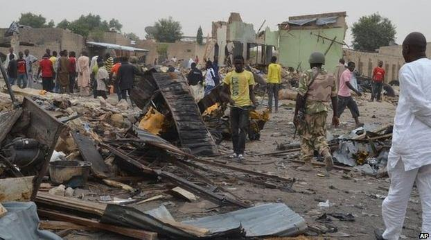 Photo of Suicide Bombers Attack Borno Mosque, One Dead, Many Injured