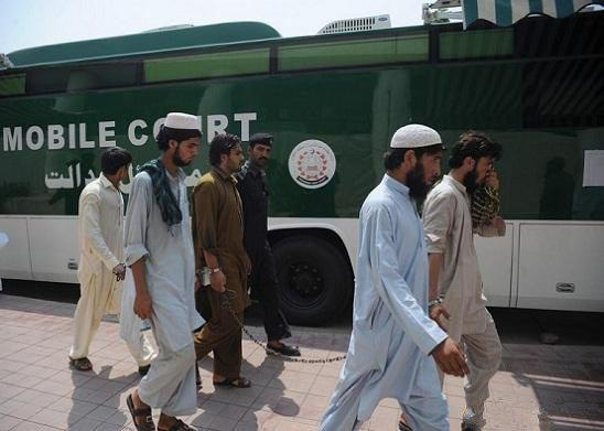 Photo of Pakistani court releases four dangerous terrorists involved in anti-Shia suicide attacks