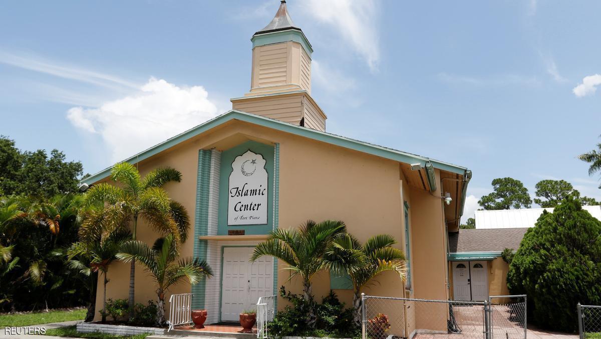 Photo of Muslim man beaten outside Florida mosque