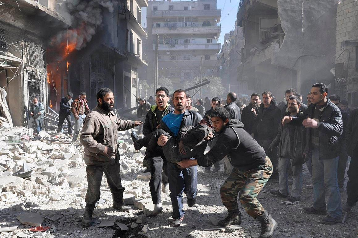 Photo of Terrorists attack Syrian Shia cities on Eid