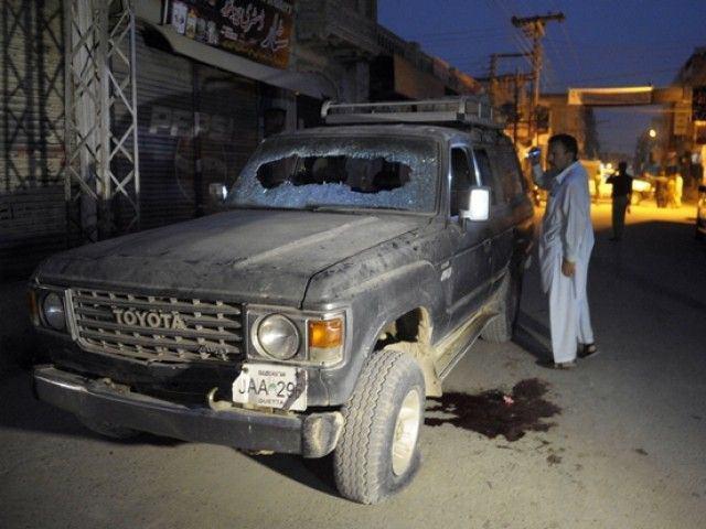 Photo of Shia cleric injured, wife killed in gun attack