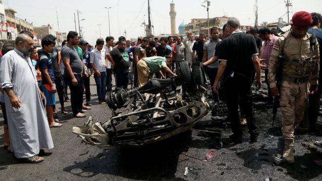 Photo of Car bomb attack on market near Baghdad