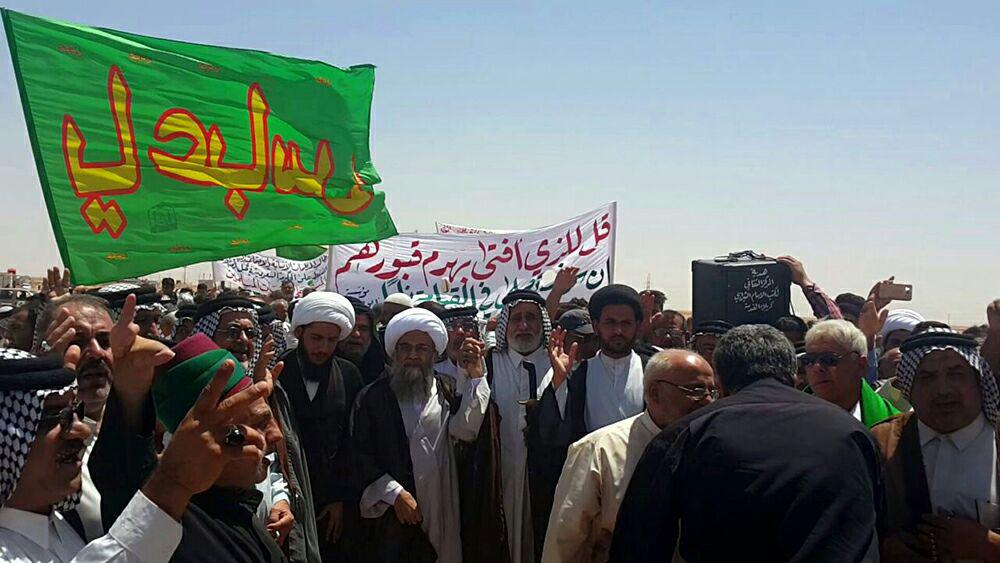 Photo of Photos: Al-Fida Procession demands Wahhabi takfirists to stop controlling the holy shrines in Medina