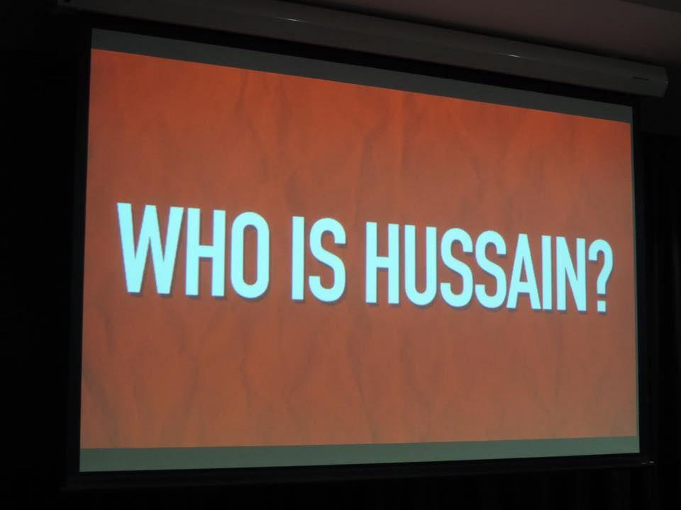 Photo of Photos: Who is Hussain ? in Adelaide Australia were kindly invited by St Columba College.