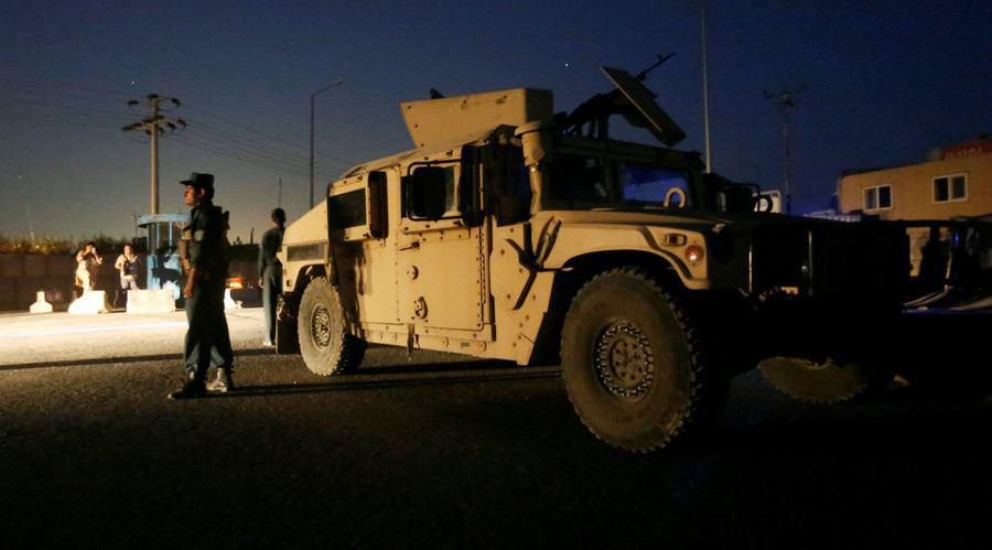 Photo of Massive truck bomb attack and gunfight at Kabul hotel