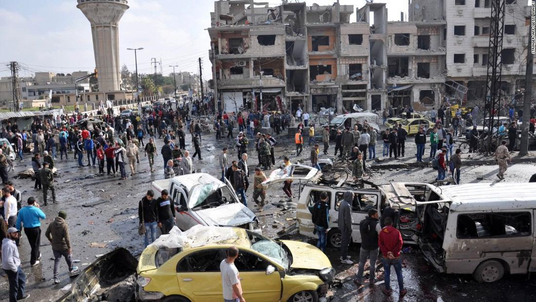 Photo of War on Syria: ISIS claims wave of bombings that kills dozens
