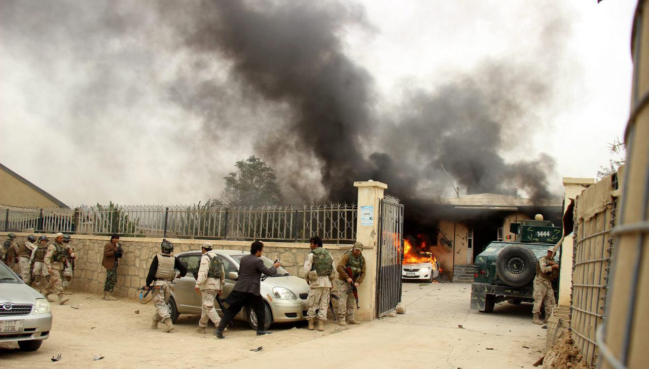Photo of Gunmen storm Kandahar's Mirwais Hospital