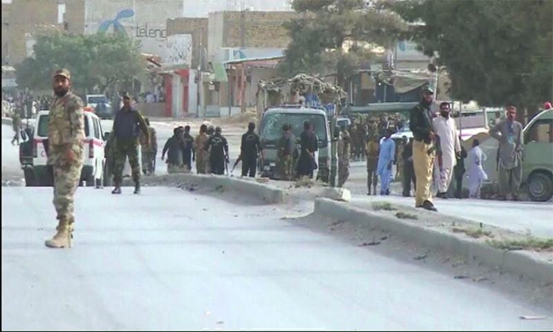 Photo of Two dead, 10 injured as IED blast targets police vehicle in Quetta