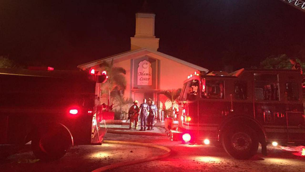 Photo of Suspect in 9/11 anniversary arson attack on Florida mosque arrested