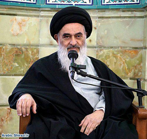 Photo of Grand Ayatollah Shirazi: Ghadeer means freedom, goodness and happiness of all mankind in both worlds