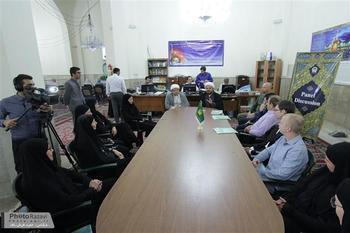 Photo of Four Swedish pilgrims convert to Shia Islam in Imam Redha Holy Shrine
