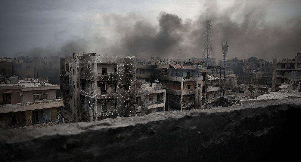 Photo of Syrian gov't troops advance in Aleppo's old city