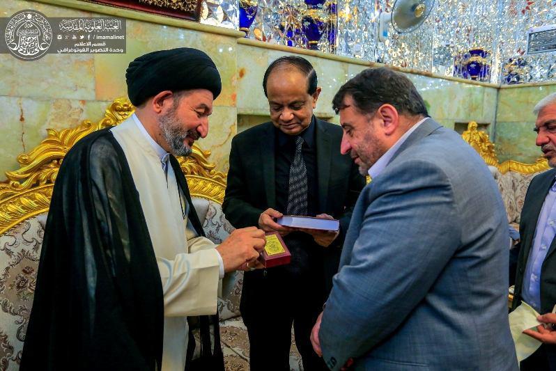 Photo of Bangladeshi Ambassador to Iraq: Imam Ali is the caretaker of humankind