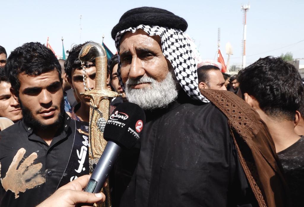 Photo of Bani Asad Tribe participates in symbolic funeral of Imam Hussein