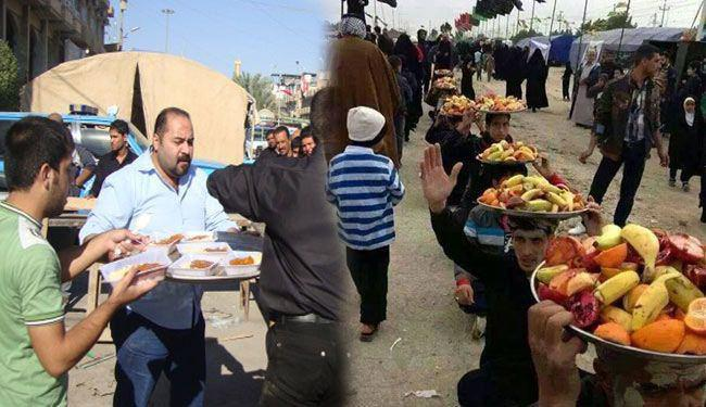 Photo of More than 27 thousand Husseini processions all over Iraq serve Imam Hussein's pilgrims on Arbaeen pilgrimage