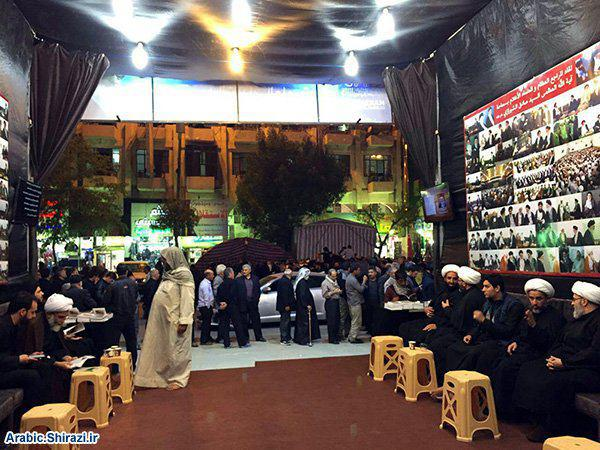 Photo of Ayatollah Shirazi mission in Holy Karbala continues receiving pilgrims from all over the world