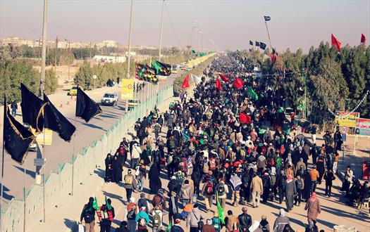 Photo of Samarra Pilgrims numbers increase