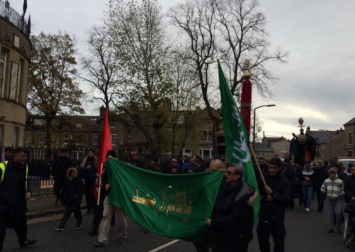Photo of Shia Muslims organize symbolic Arbaeen walk in UK