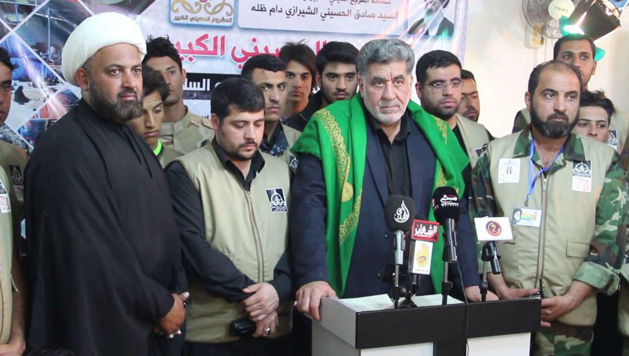 Photo of Grand Husseini Project to host Imam Hussein's pilgrims kicks off in Holy Karbala